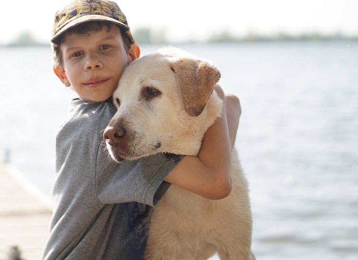 A Little Boy Wanted to Train His Dog Differently