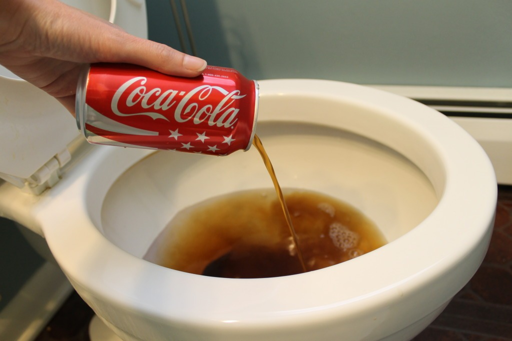 12 Home Cleaning Tricks Using Coca-Cola