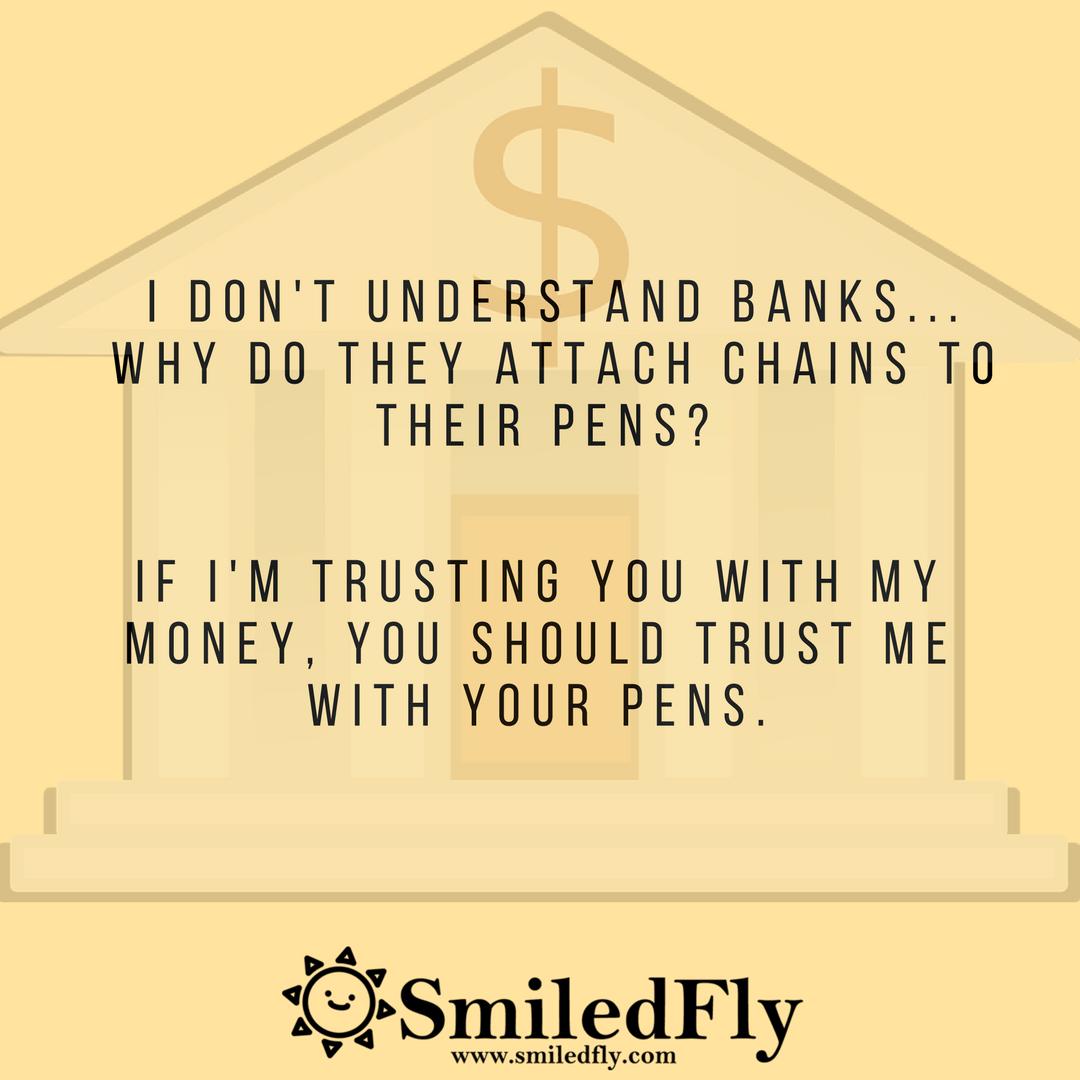 I don't understand banks